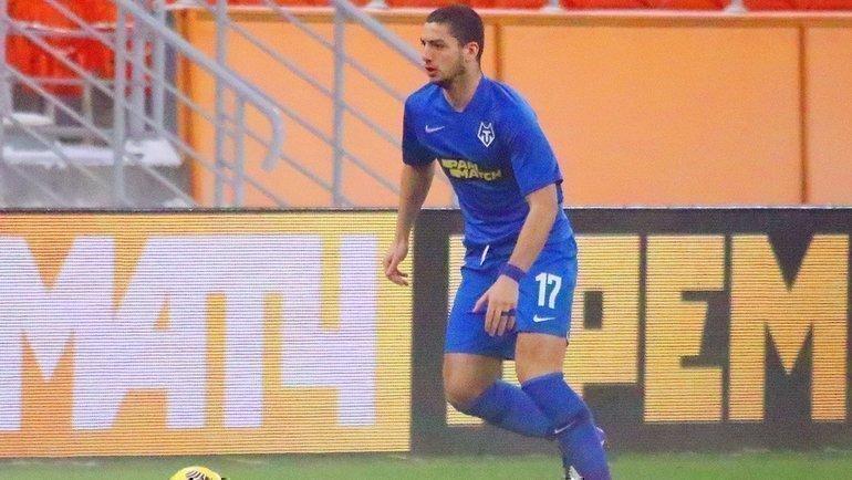 Защитник «Тамбова» Зураб Гигашвили. Фото ФК «Тамбов»