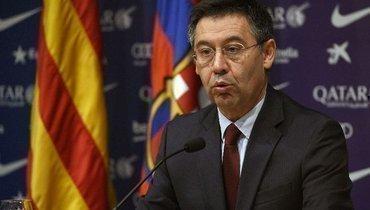 Экс-президента «Барселоны» временно отпустили насвободу