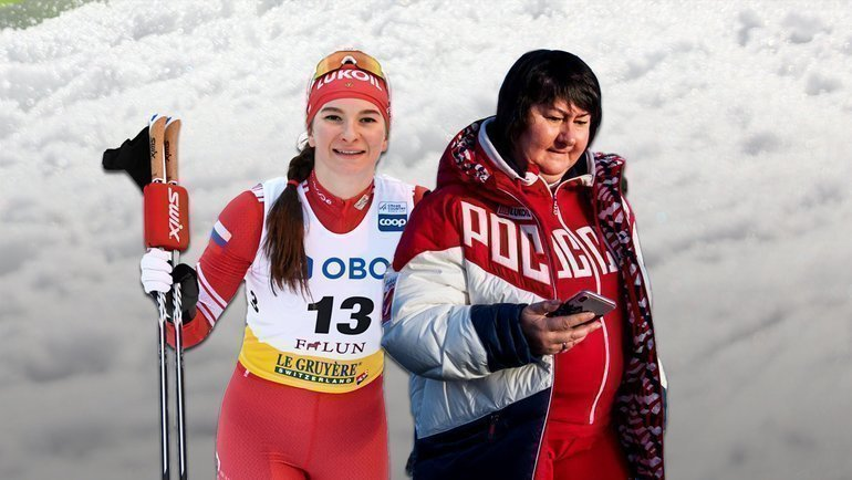 Наталья Непряева иЕлена Вяльбе.