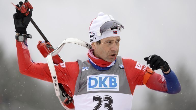 Уле-Эйнер Бьорндален. Фото AFP