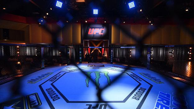 Октагон зала UFC APEX. Фото USA Today Sports