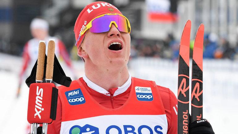 Александр Большунов. Фото Reuters