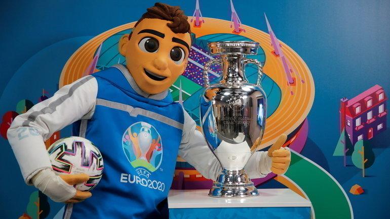 3 марта. Санкт-Петербург. 100 дней до старта Евро-2020. Фото Reuters