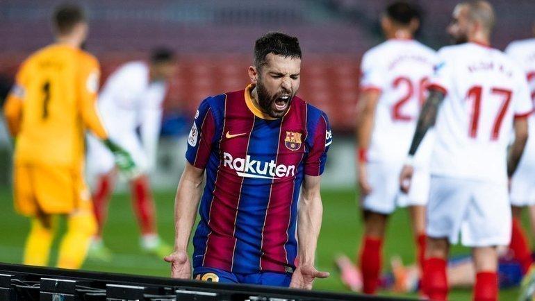 3марта. «Барселона»— «Севилья»— 3:0. Фото Twitter