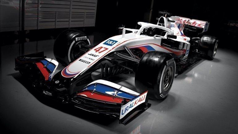 Болид «Хаас» насезон-2021 «Формулы-1». Фото «Формула-1»