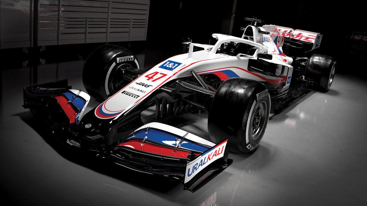Санкции ВАДА превратились вформальность? В «Формуле-1» представили американскую машину сроссийским триколором