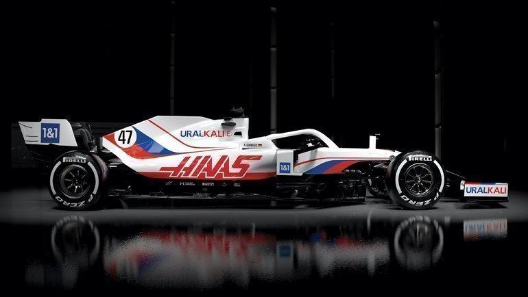 Болид «Хаас» насезон-2021 «Формулы-1». Фото «Хаас»