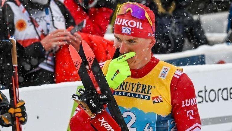 5марта. Оберстдорф. Александр Большунов. Фото AFP