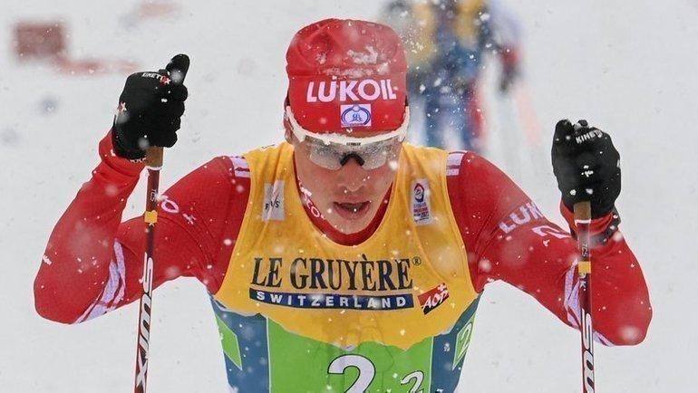 5марта. Оберстдорф. Иван Якимушкин. Фото AFP