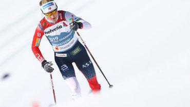Норвежка Йохауг выиграла масс-старт классическим стилем на30км наЧМ вОберстдорфе, Сорина— 9-я