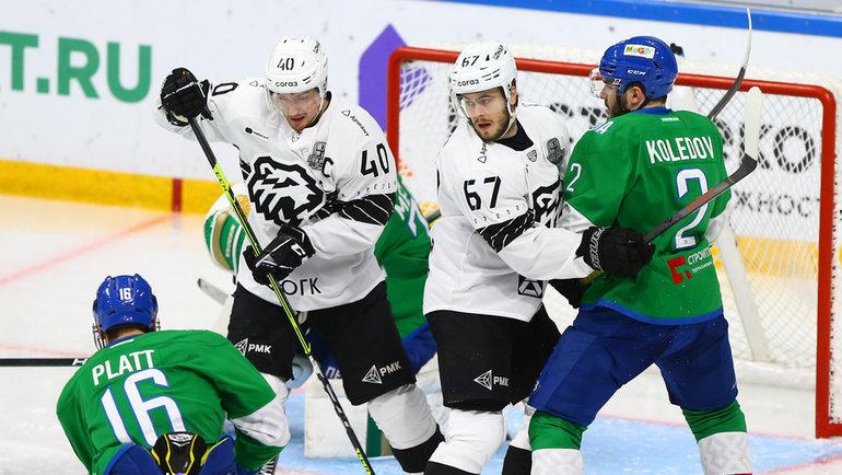 «Трактор» насвоем льду примет «Салават Юлаев» втретьем матче серии плей-офф. Фото ХК «Трактор»
