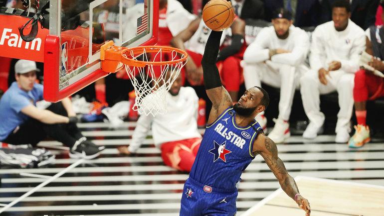 16февраля 2020 года. Матч всех звезд НБА. Леброн Джеймс. Фото USA Today Sports