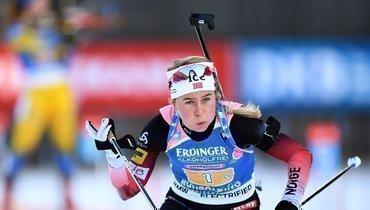 Экхофф выиграла гонку преследования, Миронова заняла 14-е место