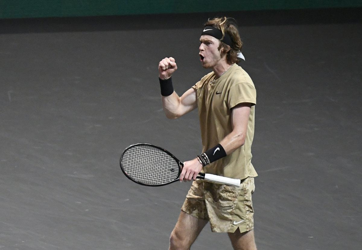 Рублев— король финалов. Андрей взял титул вРоттердаме— первый после ATP Cup