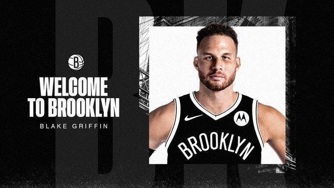 Блэйк Гриффин стал игроком «Бруклина». Фото Twitter