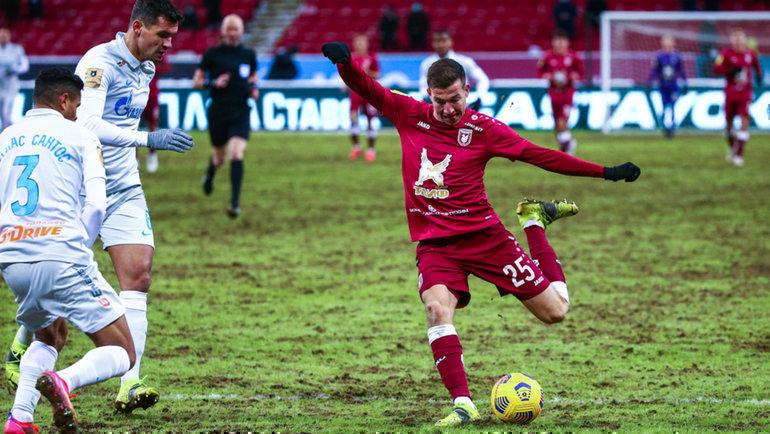 Денис Макаров. Фото ФК «Рубин»