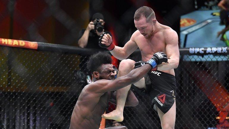 Петр ЯниАлджамейн Стерлинг. Фото MMA Fighting.