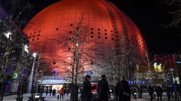 Globe Arena вСтокгольме. Фото AFP