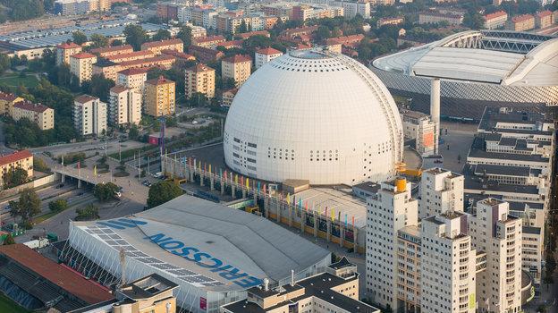 Globe Arena вСтокгольме. Фото Wikipedia