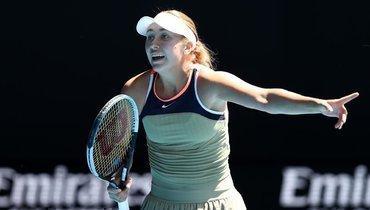 Потапова вышла вчетвертьфинал турнира вДубае