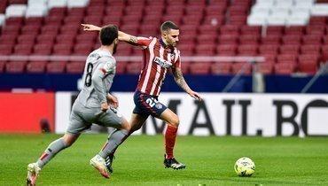Гол Суареса принес «Атлетико» победу над «Атлетиком»