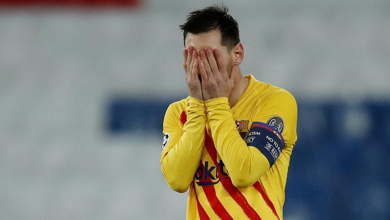 Нападающий «Барселоны» Лионель Месси. Фото Reuters