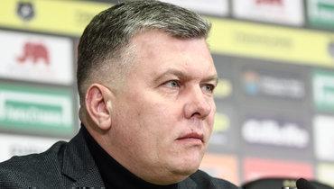 Управляющий директор «Спартака» ответил навопрос опоисках нового главного тренера