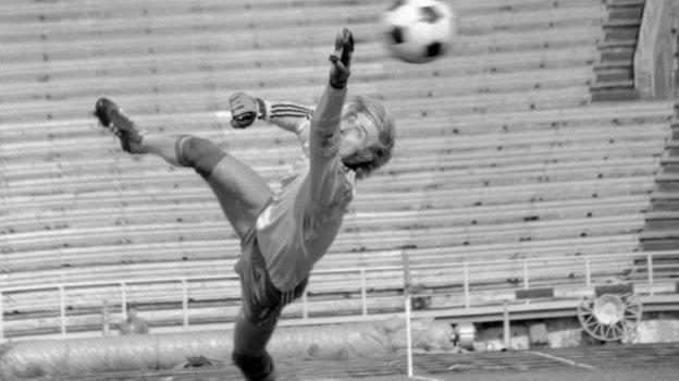 Сергей Бабурин— вратарь московского «Локомотива». Фото Сергей Колганов