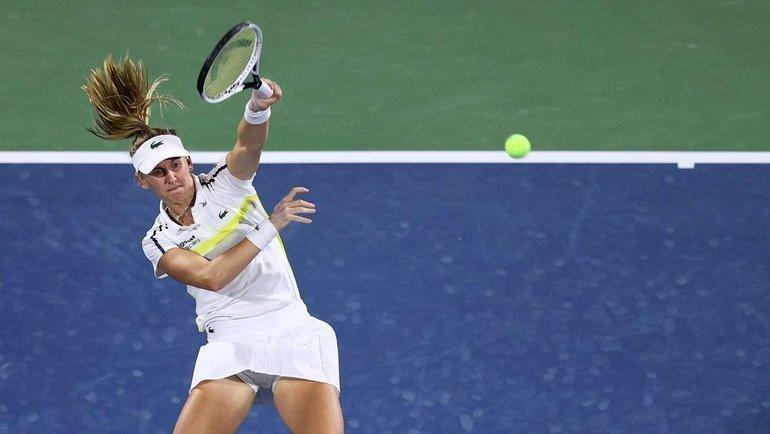 Тайхманн обыграла Гауфф вчетвертьфинале турнира вДубае. Фото AFP