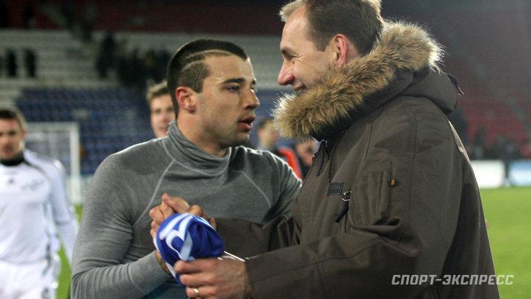 Владимир Вайсс (справа) и Алексей Еременко. Фото Александр Федоров, «СЭ»