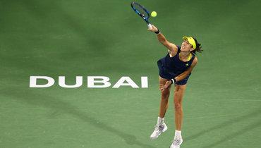 Мугуруса стала первой финалисткой турнира вДубае