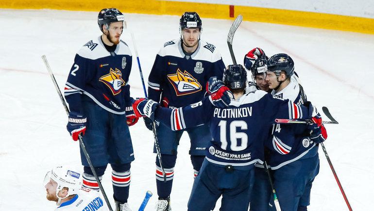 Хоккеисты «Металлурга». Фото ХК «Металлург» Магнитогорск