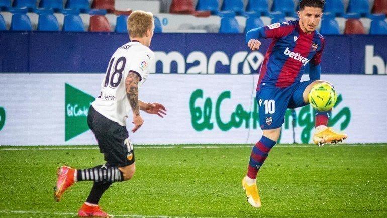 12марта. «Леванте»— «Валенсия»— 1:0. Фото Twitter