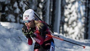 Экхофф выиграла гонку преследования вНове-Место, россиянки— вне топ-35