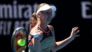 Потапова поднялась на14 позиций врейтинге WTA