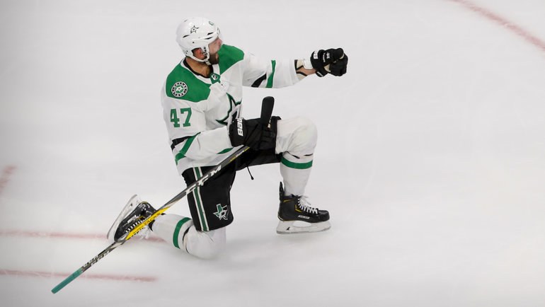 Александр Радулов. Фото USA Today Sports