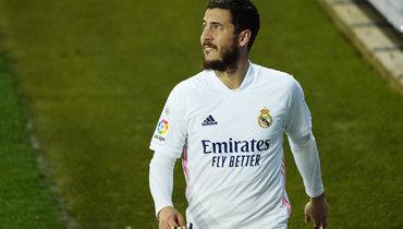 ВИспании утверждают, что Азар выбыл намесяц. Онпропустил 320 дней в «Реале» из-за травм