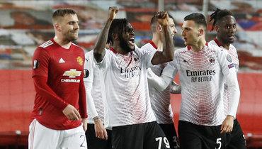 «Милан» спасся на «Олд Траффорд», Эмери обыграл Луческу, «Шахтер» разгромлен вРиме