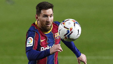 15марта. Барселона. «Барселона»— «Уэска»— 4:1. Лионель Месси. Фото Reuters