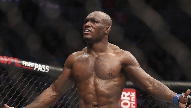 Камару Усман. Фото UFC.