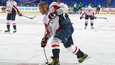Овечкин прокомментировал выход нашестое место всписке снайперов НХЛ