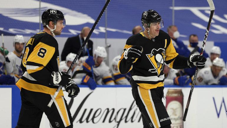 Евгений Малкин (№71). Фото USA Today Sports