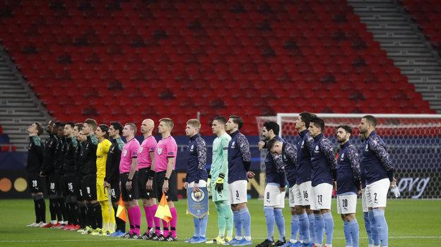 16марта. Будапешт. «Манчестер Сити»— «Боруссия» М. Фото Reuters