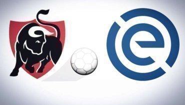 Логотипы чемпионатов Бельгии иГолландии.