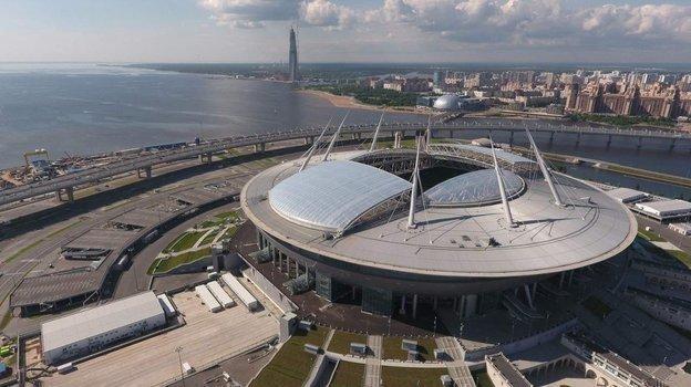 «Газпром Арена». Фото ФК «Зенит»
