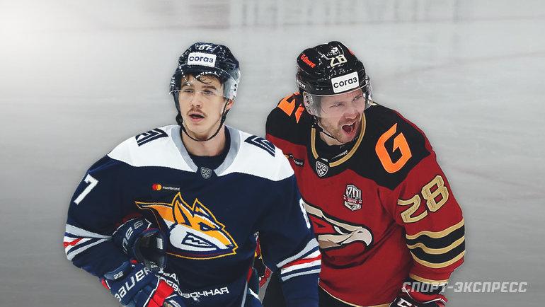 Николай Голдобин (слева) и Сергей Толчинский. Фото «СЭ»