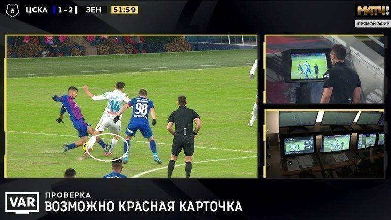 ЦСКА— «Зенит».