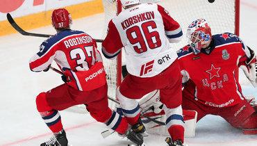 ЦСКА проиграл «Локомотиву» впервом матче полуфинальной серии Запада.