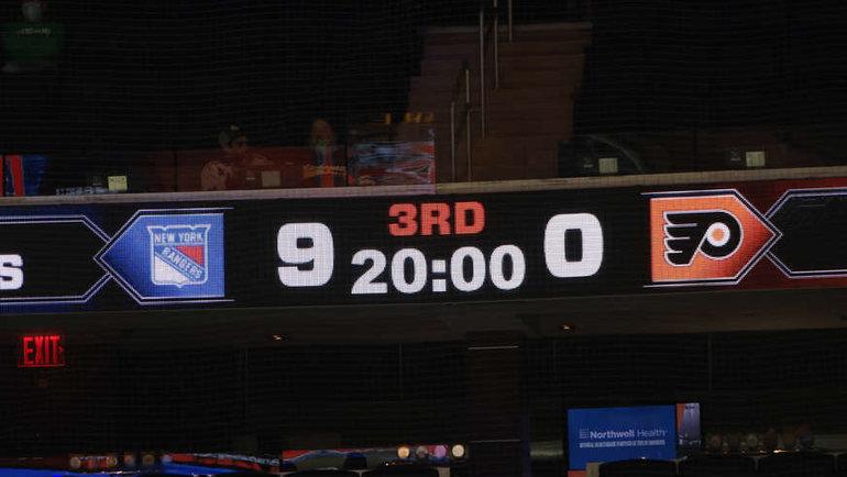 18марта. «Рейнджерс»— «Филадельфия»— 9:0. Фото nhl.com