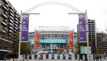 Вид на «Уэмбли»: главный стадион Евро-2020.